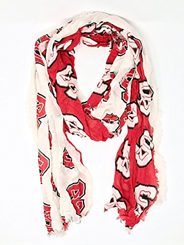 Oblong Pack - Purchadise NCAA Dual Color Oblong Scarf (NC State Wolfpack)