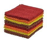 Best Dish Cloths - DecorRack 8 Pack Kitchen Dish Towels, 100% Cotton Review