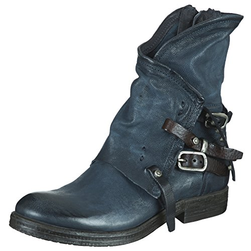 Da 207235 Stivaletto nero Donna Blu tdm As98 Biker wORCqxtxS