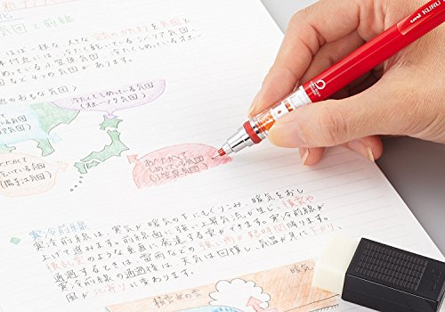 Uni NanoDia Color Mechanical Pencil Leads, 0.5mm, 7 Colors, Total 140 Leads, Sticky Notes Value Set by Stationery JP (Image #5)