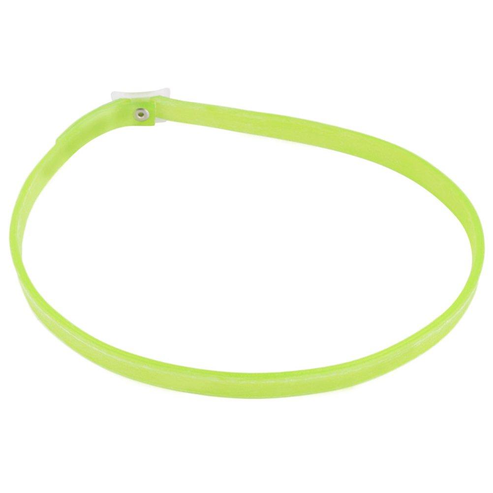 ueetek Collier anti-puce et tiques pour chiens chats Collier réfléchissant (Vert citron)