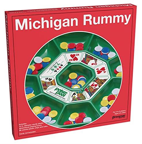 Pressman Michigan Rummy
