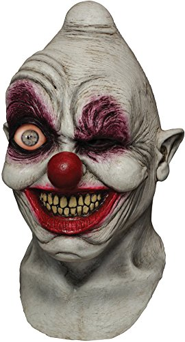 Scary Crazy Person Costumes Halloween - Ghoulish Men's Horror Crazy Eye Digital