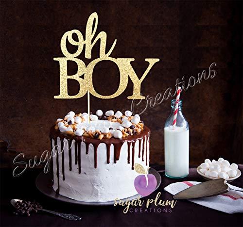 - Oh Boy Cake Topper