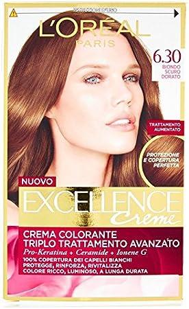 L Oréal Paris Excellence cremas Crema colorante 6.30 Rubio ...