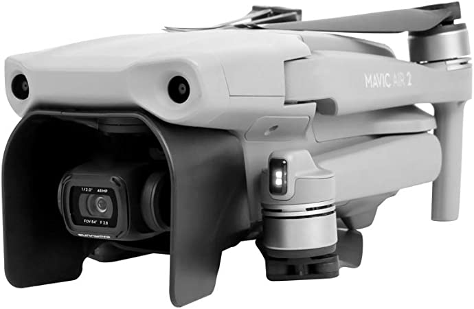 Huanruobaihuo Pare-Soleil Taud de Soleil Ombre Anti-Glare for DJI Mavic 2 Accessoires Pro Zoom Drone pi/èces de Rechange