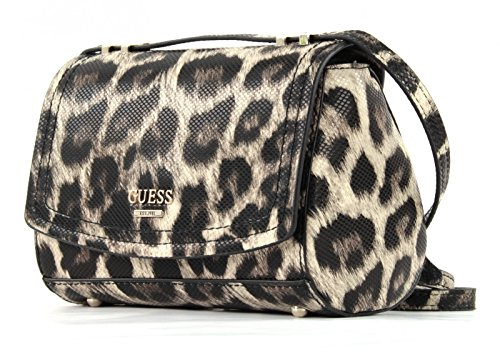 Guess Damen Hwlp6421780 Shopper, Mehrfarbig (Leopard), 13 x 22.5 x 36 cm