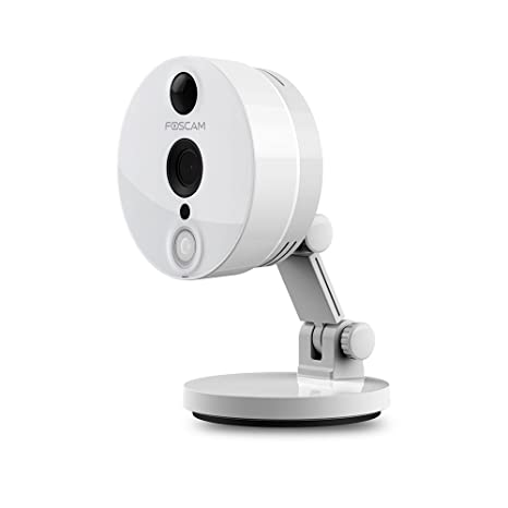 Foscam C2 1080P Full HD WiFi - Cámara IP de Seguridad, Lente 2MP con P2P