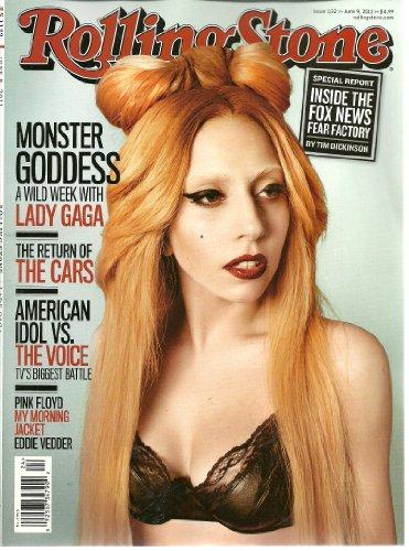 Rolling Stone #1132 ~ June 9, 2011 ~ Lady GAGA/ Pink Floyd/ Eddie Vedder