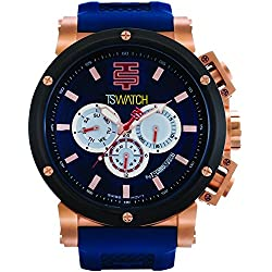 TechnoSport Men's Chrono Watch - XPL rose gold