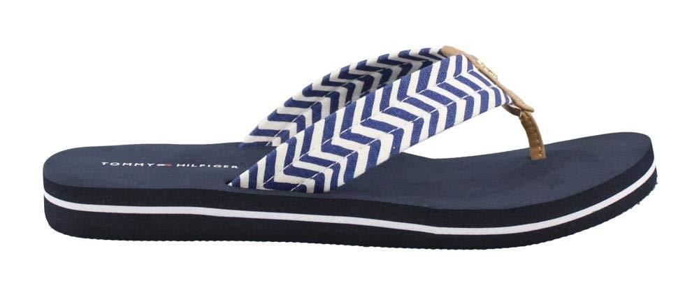 Tommy Hilfiger Women's, Thong Sandal Navy 8 M