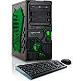 CybertronPC Borg-709 (Green) TGMBG70934GN Gaming PC (3.5 GHz AMD FX-6300  6-Core, 1GB GeForce GTX 750, 8GB DDR3 1600MHz, 1TB HDD, WiFi, Windows 8.1 64-Bit)