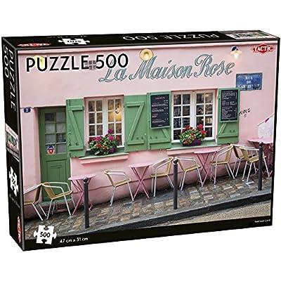 Tactic 55259 Parisian Caf Puzzle Da 500 Pezzi Multicolore