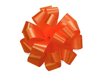 Amazon bows orange gift pull bows christmas wrapping set of bows orange gift pull bows christmas wrapping set of 10 5quot negle Gallery