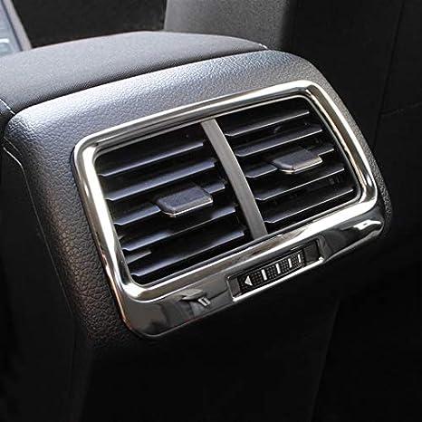 Ffz Parts Mittelkonsole Hinten Blende Rahmen In Edelstahl Passend Für Golf 7 Vii Mk7 Auto