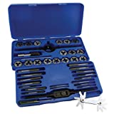 GreatNeck DT40M Metric Tap and Die Set, 41-Piece