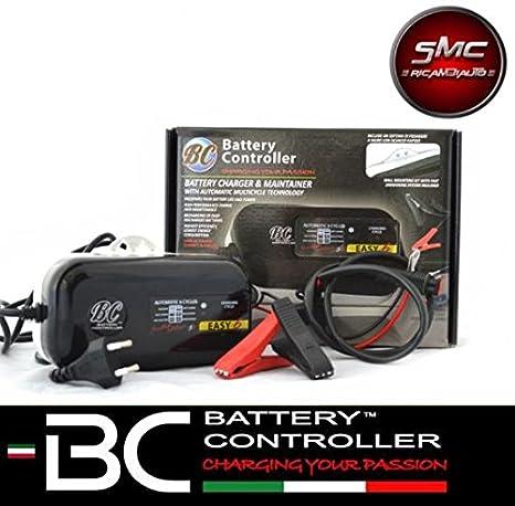 Cargador de baterías BC EASY 6 para 12 V de moto, scooter, Quad Original: Amazon.es: Coche y moto