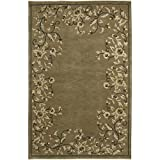 Surya IN1082-23 Hand Knotted Traditional Accent Rug, 2 by 3-Feet