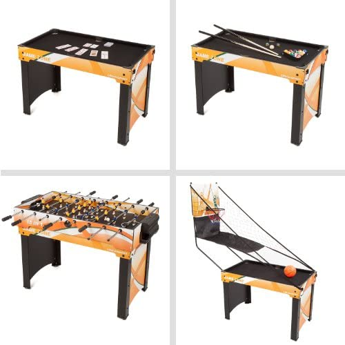 Ultrasport Table de Jeux 15 en 1, Dimensions de la Table : Env. 107 X 61 X 80 Cm