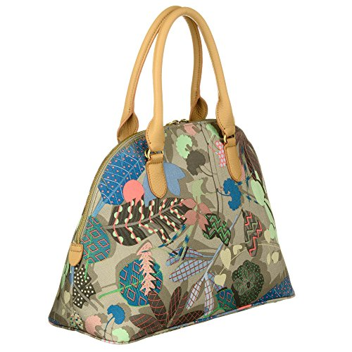 Oilily Botanic Pop Boston Bag Nori Green