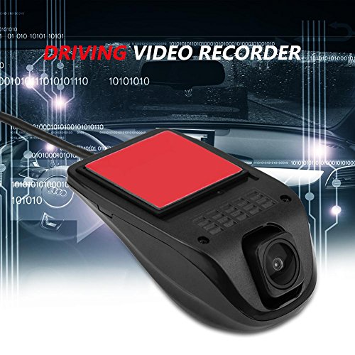 Acouto 1080P HD USB Camera Car DVR Video Driving Recorder with Night Vision for Android System by Acouto (Image #5)