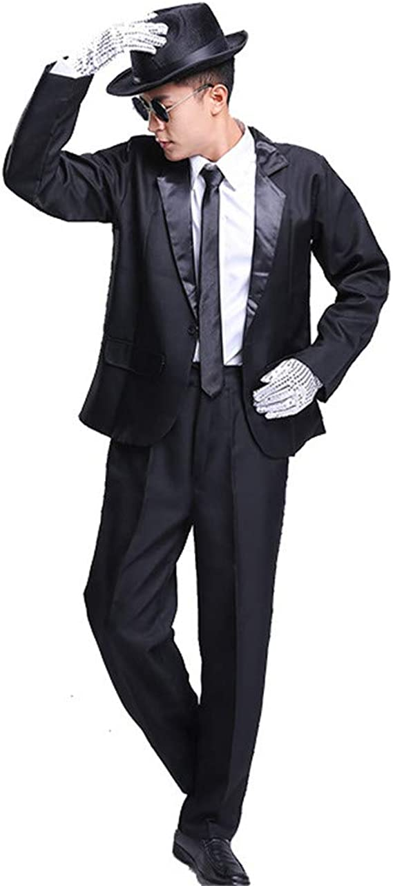 Gangster Costume 1920s Da Uomo Costume Outfit 20s Zoot Suit Adulti Nuovo M-XL