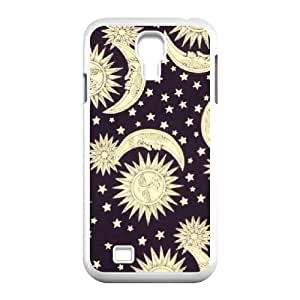 Custom Colorful Case for SamSung Galaxy S4 I9500, Sun Moon Space Nebula Cover Case - HL-512914