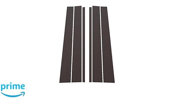 2007-2014 Ford Edge All Models PIL-047-CF Ferreus Industries Carbon Fiber Pillar Post Trim Cover fits