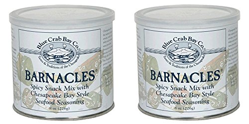 (Blue Crab Bay Co. Barnacles Snack Mix, 8-Ounces (Pack of 2) )