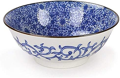 UPKOCH Scodella in Ceramica Scodella per Microonde Scodella in Ceramica in Stile Giapponese per Ristorante di Casa