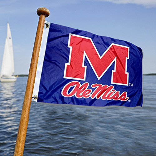 College Flags and Banners Co. Ole Miss Golf Boat Mini Flag]()