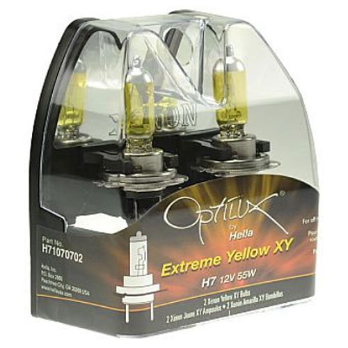 HELLA H71071342 Optilux XY Series H3C Xenon Yellow Halogen B