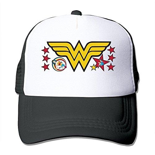 béisbol gorras Wonder Negro Woman de Custom zwFCHqz
