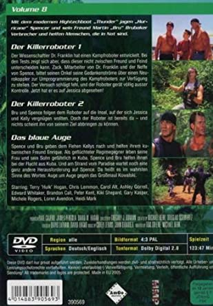 Thunder in Paradise: Heiße Fälle - Coole Drinks, Vol. 08 Alemania DVD: Amazon.es: Chris Lemmon, Carol Alt, Patrick Macnee, Felicity Waterman, Sam J. Jones, Charlotte Rae, Lisa Stahl, Cory Lerios, Chris Lemmon,