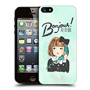 Head Case Designs Bonjour Au Revoir I Dream of Paris Protective Snap-on Hard Back Case Cover for Apple iPhone 5 5s