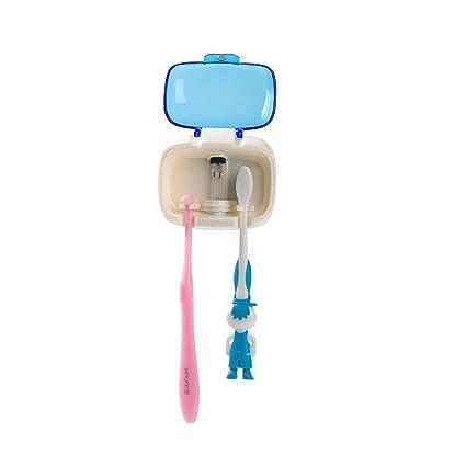 acelec 1pc portátil ultravioleta desinfección UV 6 – 8 minuto temporizador sanificante Sanitizer cepillo de dientes