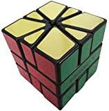 CubeTwist Square One SQ1 Brain Teaser Speed cube Puzzle (8 Piece), Black