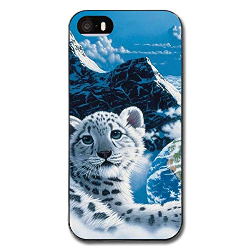 iPhone 5 / 5S Cases Majestic White Tiger Black Warm Protective PC Cover