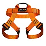 Fusion Climb Centaur Half Body Harness Orange M-XL for Climbing Gym & Rope Course