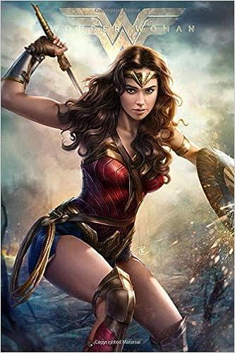 Wonder Woman Journal Diary Notebook