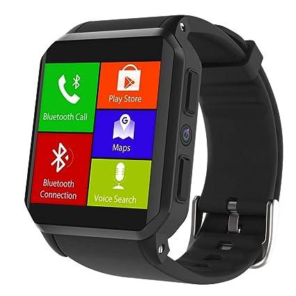 """Kingwear KW06 3G SmartWatch - 1.54"""" TFT HD Pantalla Impermeable Reloj Inteligente Con Sim Tarjeta"""