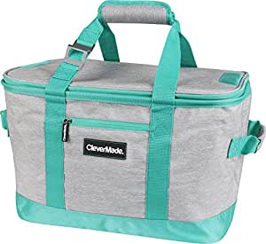 Amazon Com Clevermade Snapbasket 50 Can Soft Sided