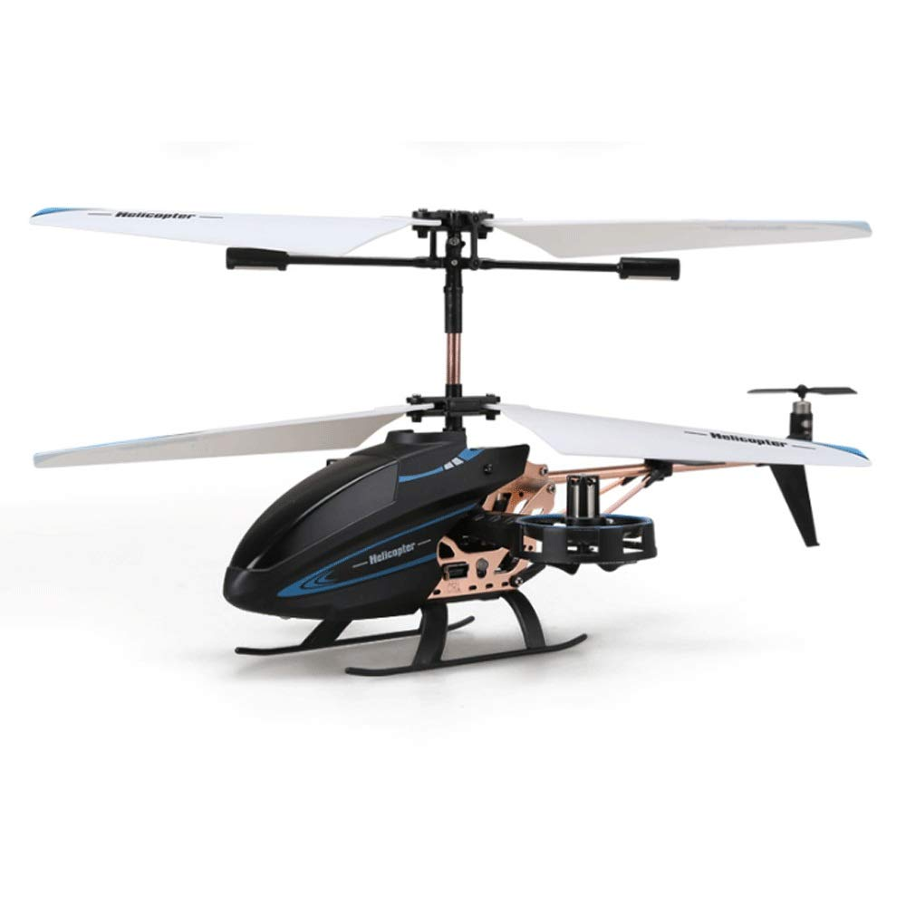 Zenghh RC helicopter drone toy multiplayer game 3.5 through 4.5 channel charging and LED lights primary school boy remote control aircraft indoor outdoor landing rocker model gyro super preferred gift
