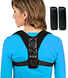 Back Brace Posture Corrector for Women & Men - Best Effective Comfortable Adjustable Posture Brace for Slouching & Hunching - High Quality Premium Brace Perfect Clavicle Support With Underarm Pads