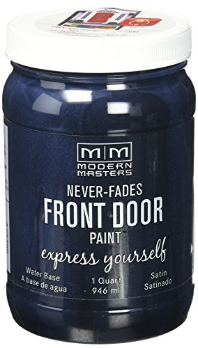 Modern Masters 275266 Satin Front Door Paint, 1 Quart, Elegant