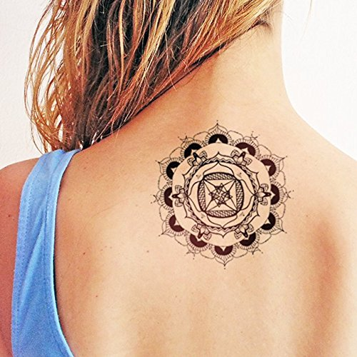 Mandala - Tatuaje temporal: Amazon.es: Handmade
