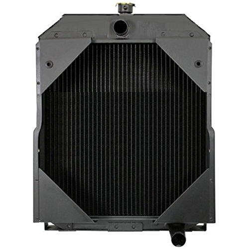 Primecooling 3 Row Full Aluminum Tractor Radiator for Aftermarket Allis Chalmers D17 Gas & LP 70229702/Heavy Duty