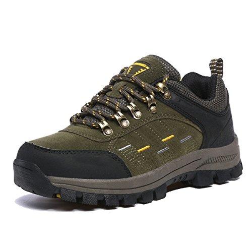 Zapatos Para Caminar Al Aire Libre Deslizamiento De Los Hombres De Gran Tamaño De Varios Colores De Varios Tamaños Green