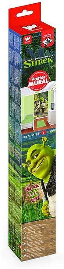Shrek Poster Mural Shrek Donkey Puss in Boots Adventure Wall Art 8ft x 5ft