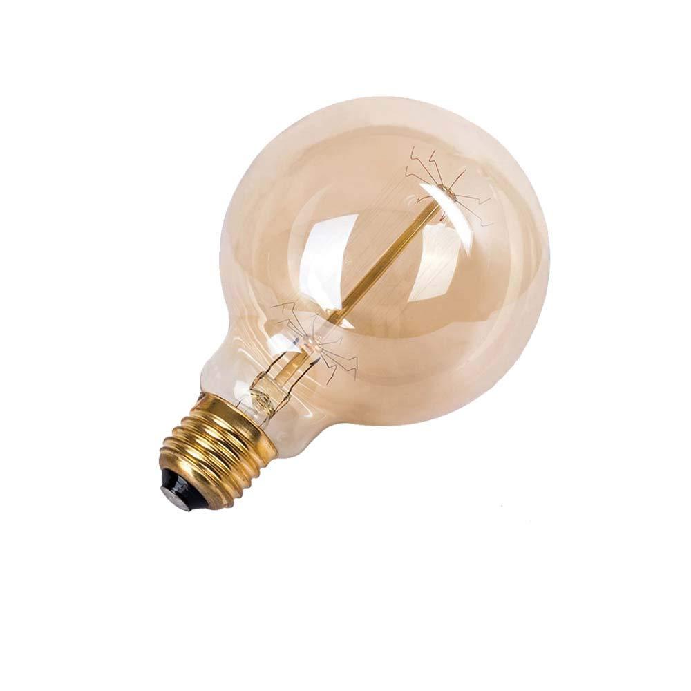 Warm Yellow E27 ST64 E27 60.00W 220.00V Bombilla de filamento Edison regulable con forma de jaula de ardilla 220 V